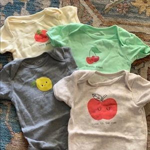 Other - Fruit onesies